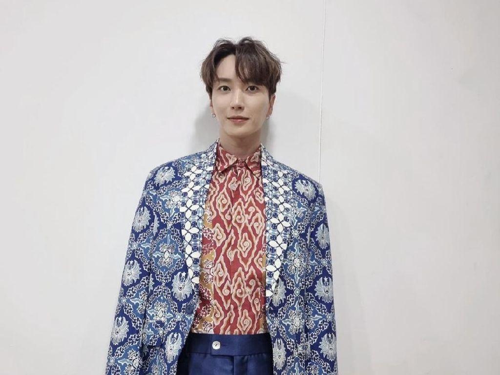 Leeteuk dan Yesung Super Junior Pakai Batik Jabar, Ini Cerita di Baliknya