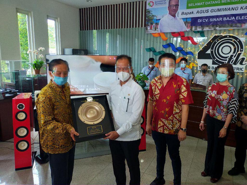 Wow! Speaker Made in Surabaya Dipakai Bentley