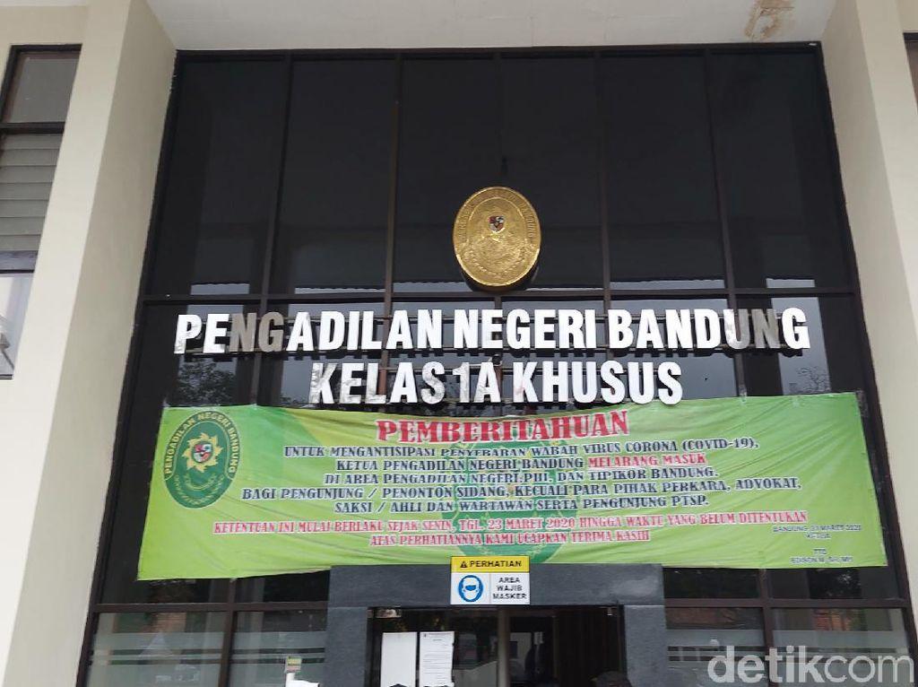 Siaga 1 Corona, Begini Skema Agenda Sidang di PN Bandung