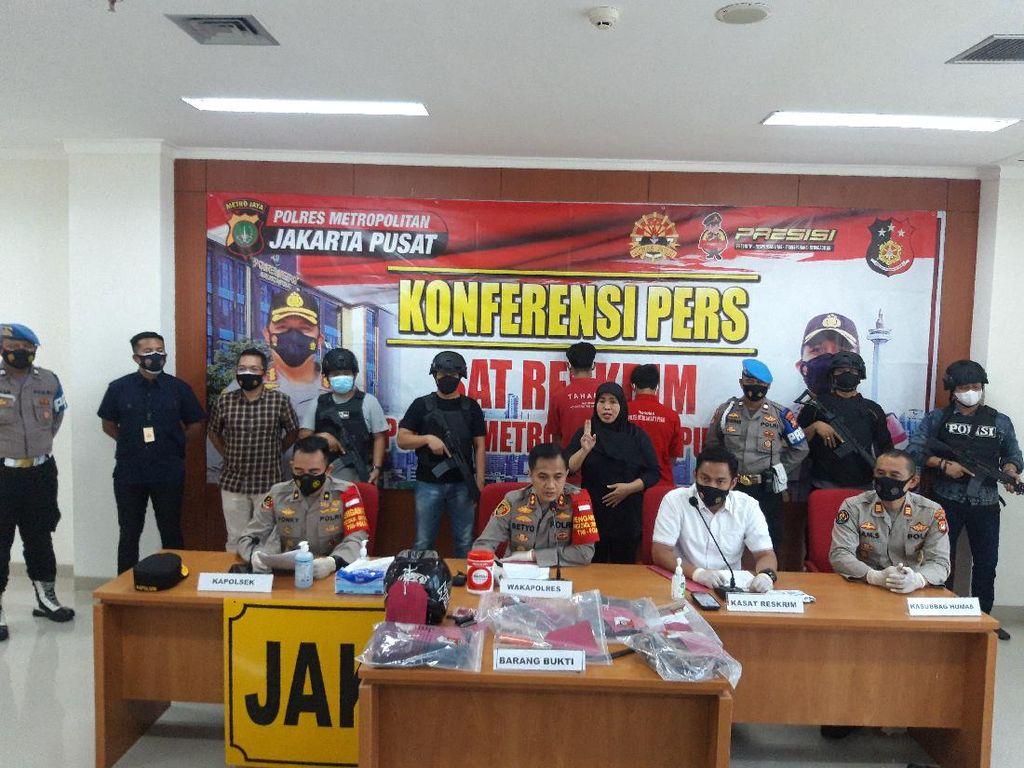 Polisi Ungkap Kronologi Ojol Dibegal di Tugu Tani Jakpus