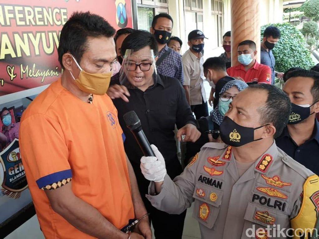 Suami di Banyuwangi Bacok Istri yang Tertangkap Basah Dipijat Pria Lain