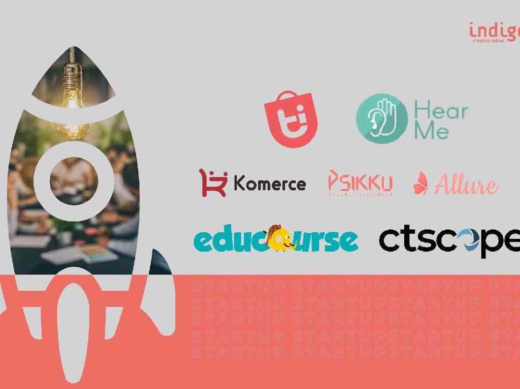 7 Startup Lolos Penjurian Indigo Creative Nation Batch 1, Siapa Saja?