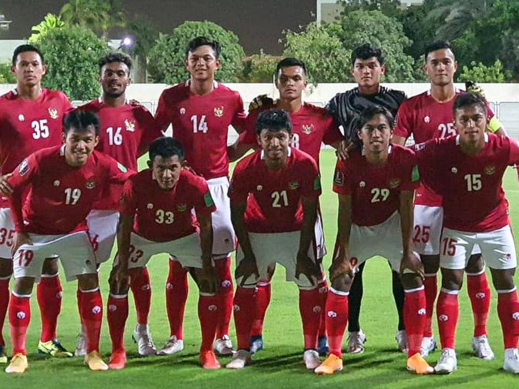 Turun Minum, Indonesia Tertinggal 0-2 dari Afghanistan