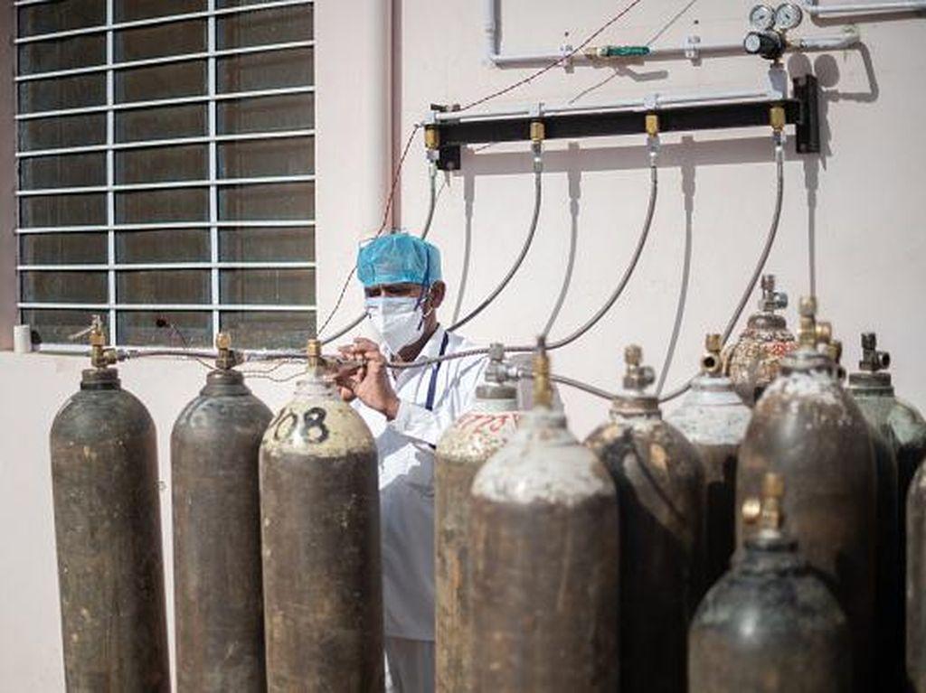 Tabung Oksigen Kotor Diduga Pemicu Munculnya Jamur Hitam di India