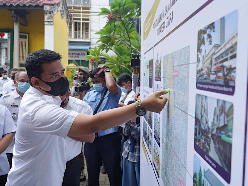 Mau Revitalisasi Kota Lama Medan, Bobby: Harus Beri Manfaat Besar