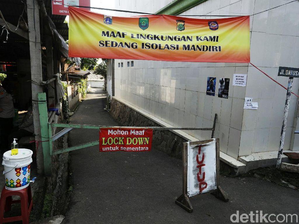 Micro-lockdown RT Klaster Silaturahmi di Cilangkap Diperpanjang 14 Hari