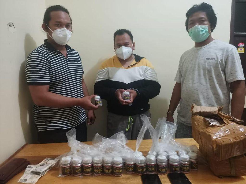 Polisi Tangkap Pemasok Merkuri ke Tambang Emas Ilegal di Kalteng