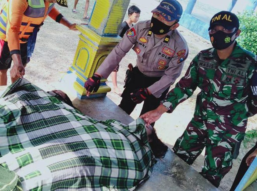 Diterjang Ombak di Pantai Bengkung Malang, 2 Mahasiswa Tewas, 2 Lainnya Hilang
