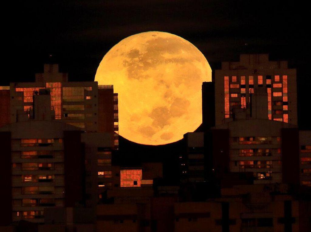 Foto Super Blood Moon Malam Ini? Ikutin Lomba LAPAN Aja