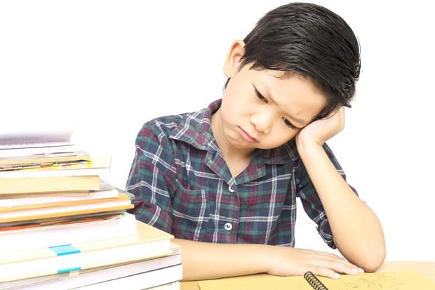 Ilustrasi anak memiliki masalah dalam belajar.