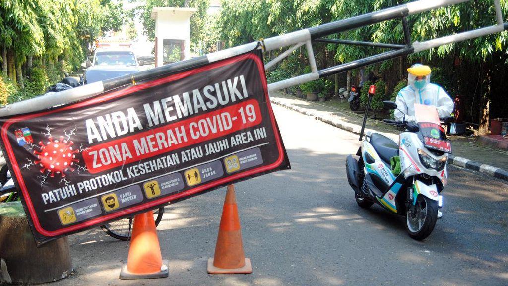 60 Orang Positif Covid-19 Perumahan di Bogor Dilockdown
