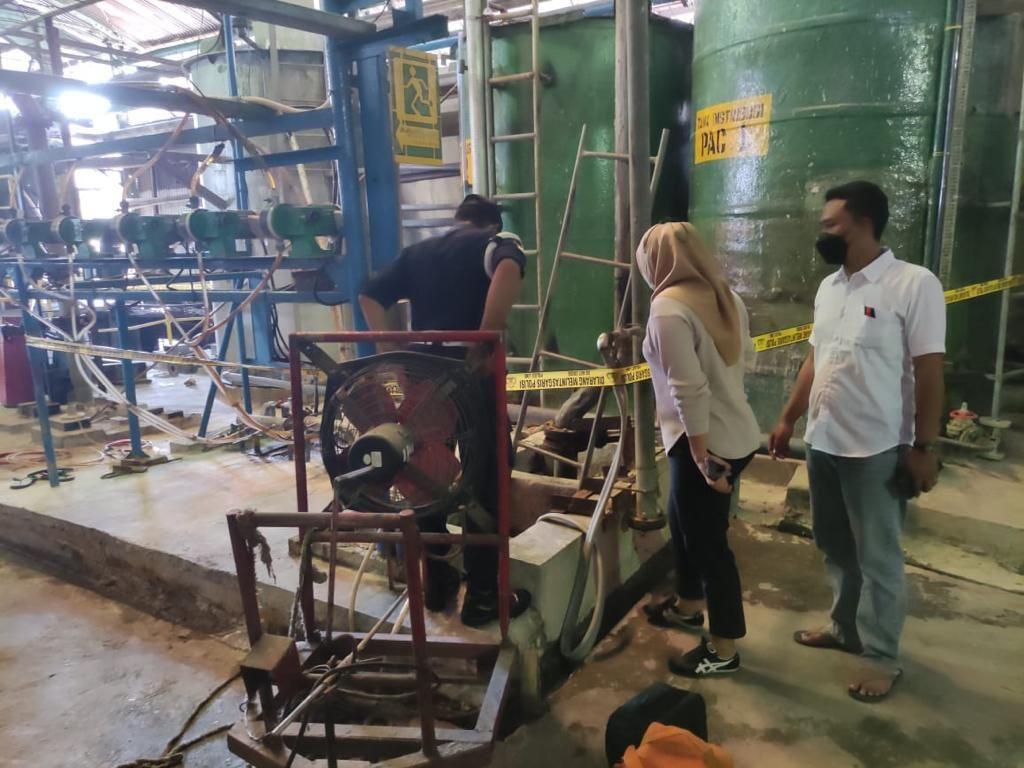 Kecelakaan Kerja di Pabrik Kertas Mojokerto, 1 Pekerja Tewas, 2 Kritis