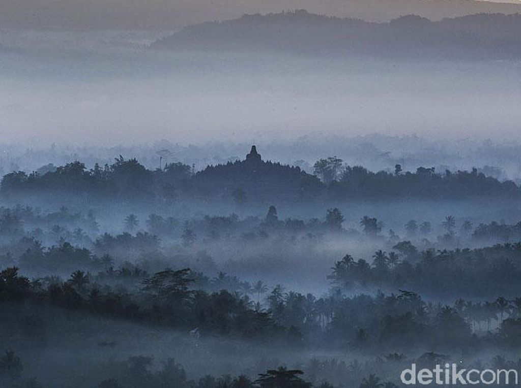 Melihat Lagi Foto-foto Pesona Candi Borobudur