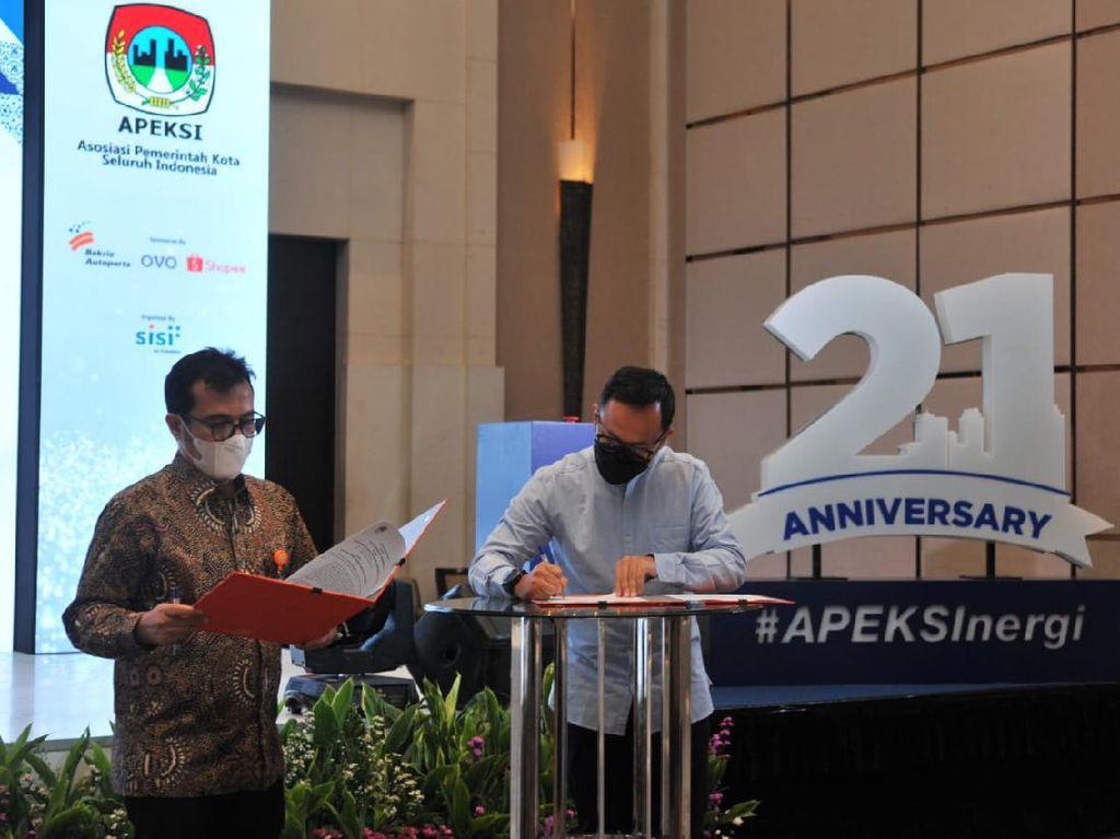 Pos Indonesia Sinergi dengan APEKSI Layani Masyarakat