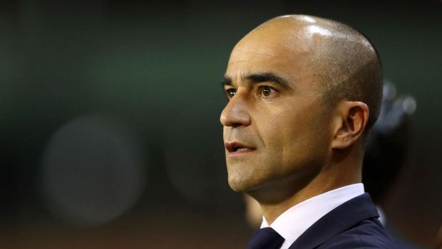 BRUSSELS, BELGIUM - OCTOBER 16:  Roberto Martinez, Manager of Belgium looks on prior to the International Friendly match between Belgium and Netherlands at King Baudouin Stadium on October 16, 2018 in Brussels, Belgium.  (Photo by Dean Mouhtaropoulos/Getty Images)