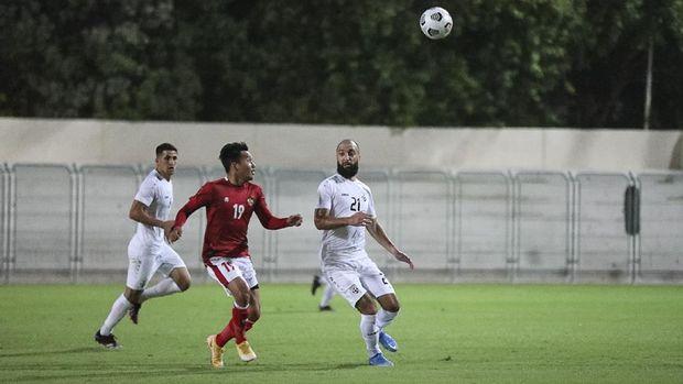 Timnas Indonesia kalah 2-3 dari Afghanistan dalam pertandingan persabahatan di Uni Emirat Arab (UEA), Selasa (25/5/2021).