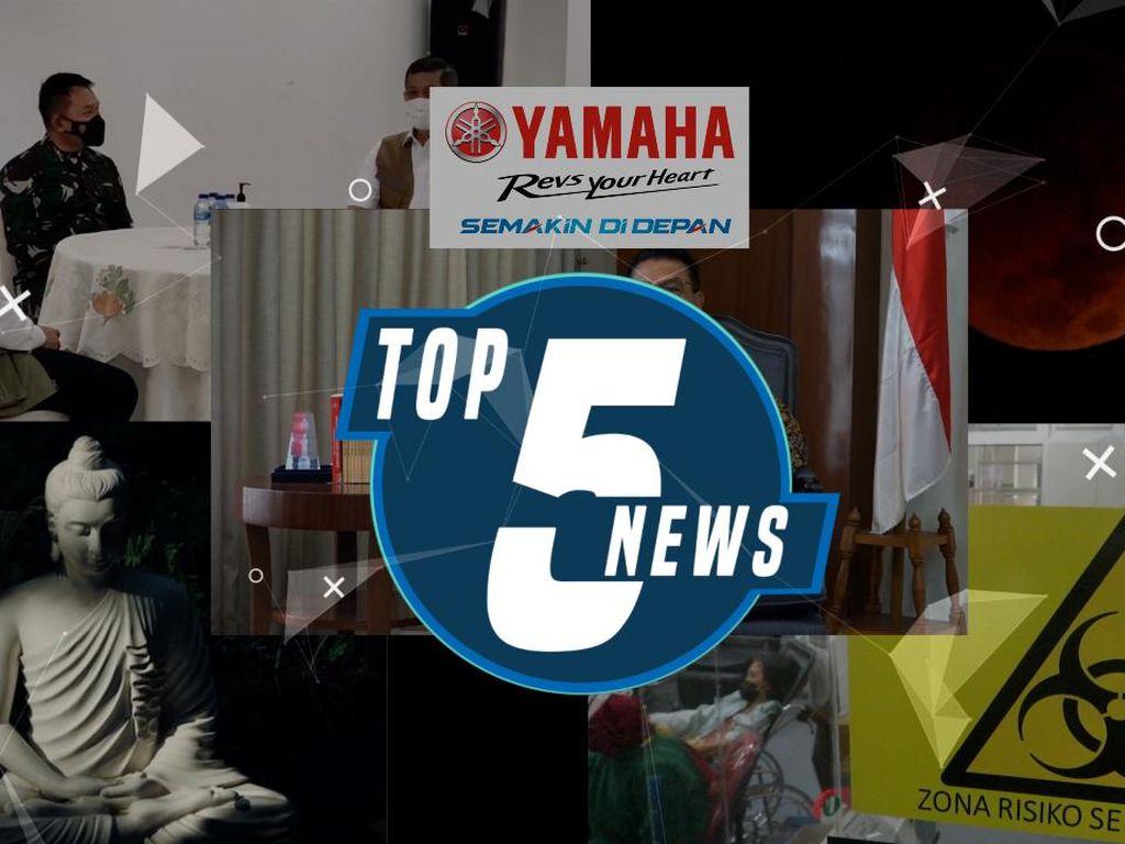 Top 5: Mayjen Dudung Jadi Pangkostrad, Moeldoko Bicara Soal Novel Cs