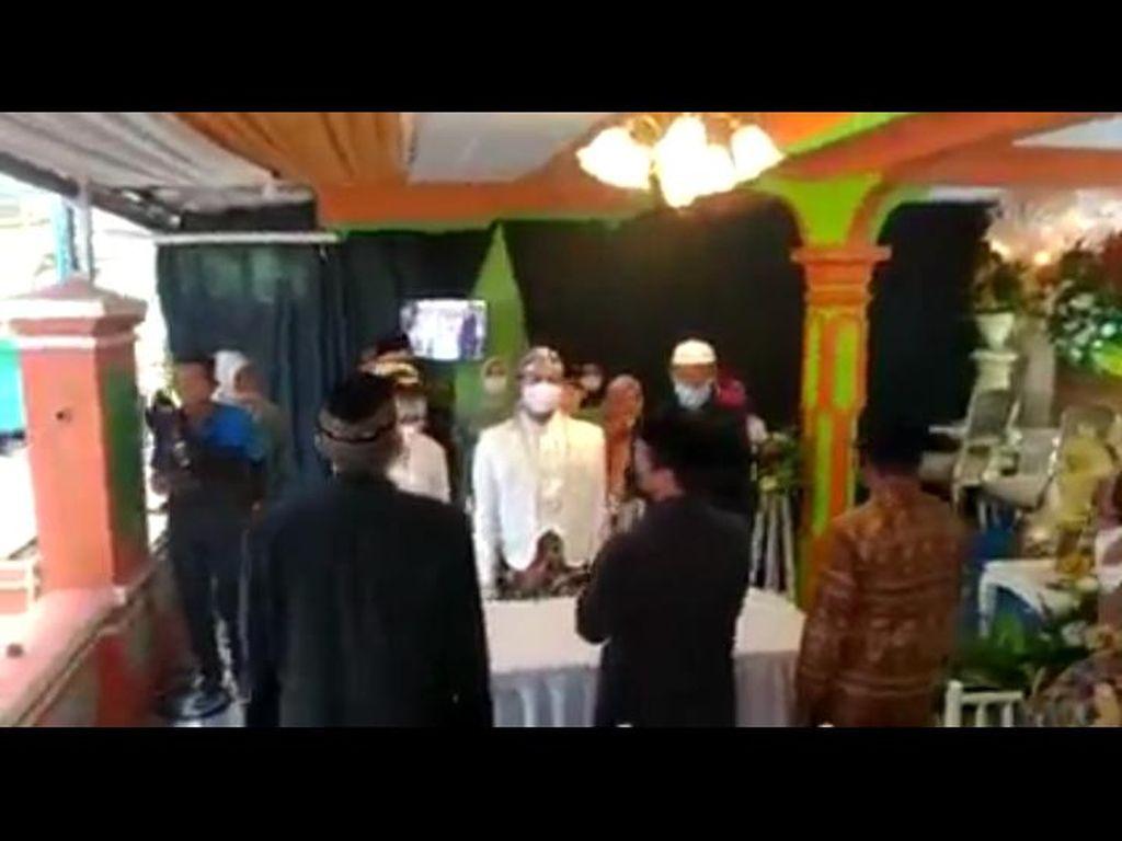 Viral Acara Akad Nikah Pakai Nyanyi Indonesia Raya