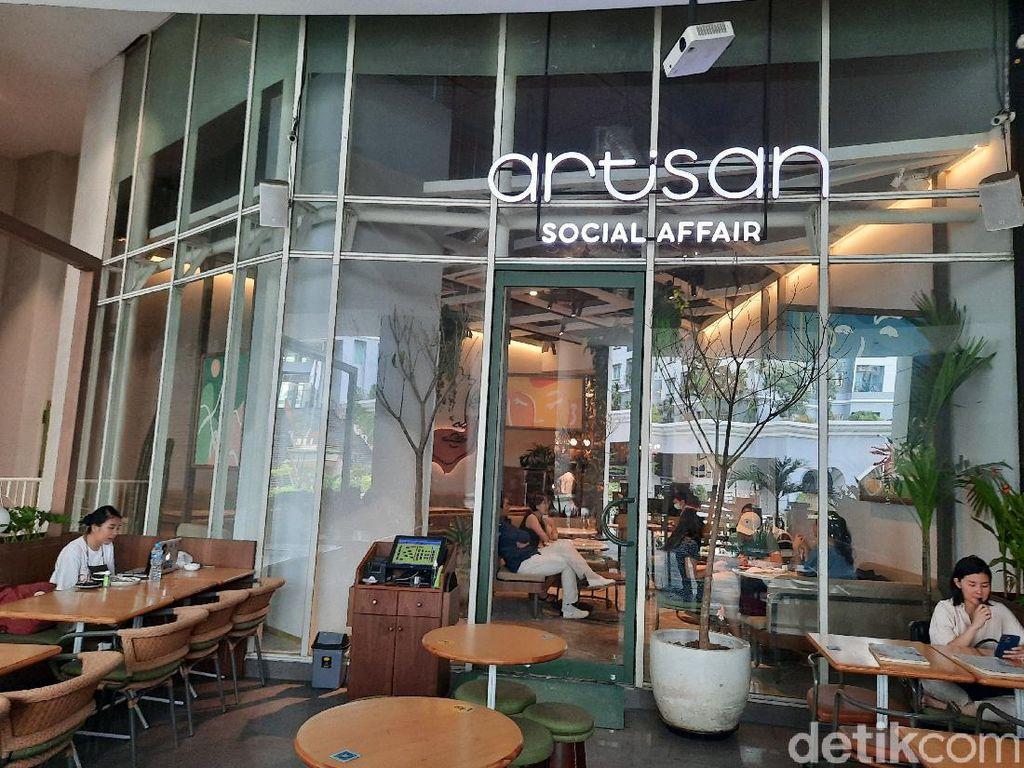 Artisan Social Affair, Restoran Artsy di Mall of Indonesia, Kelapa Gading