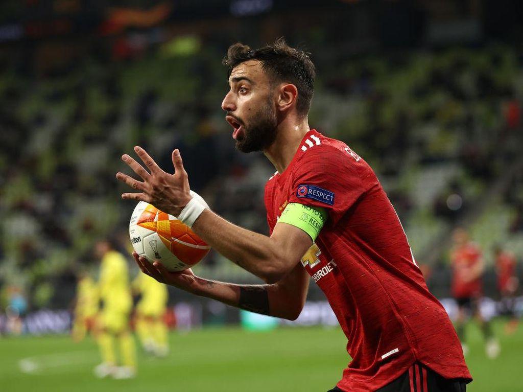 Kata Wenger, Bruno Fernandes Redup di Final Liga Europa karena...