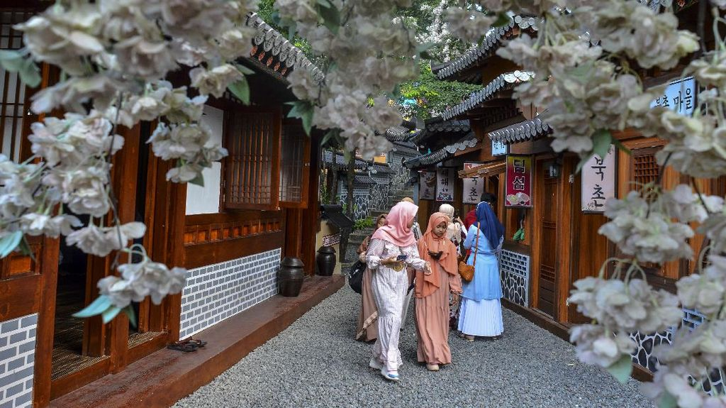 Bukan di Korea Selatan, Tempat Wisata Ini Ada di Tasikmalaya