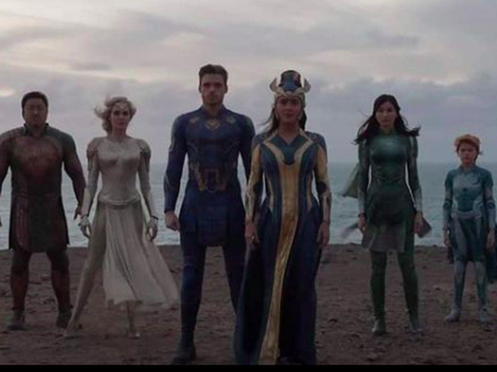Kenali 10 Karakter Baru Marvel dalam Film Eternals