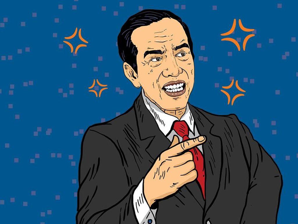 Jokowi Dinilai Mendua dan Cenderung Abaikan Upaya Pelemahan KPK