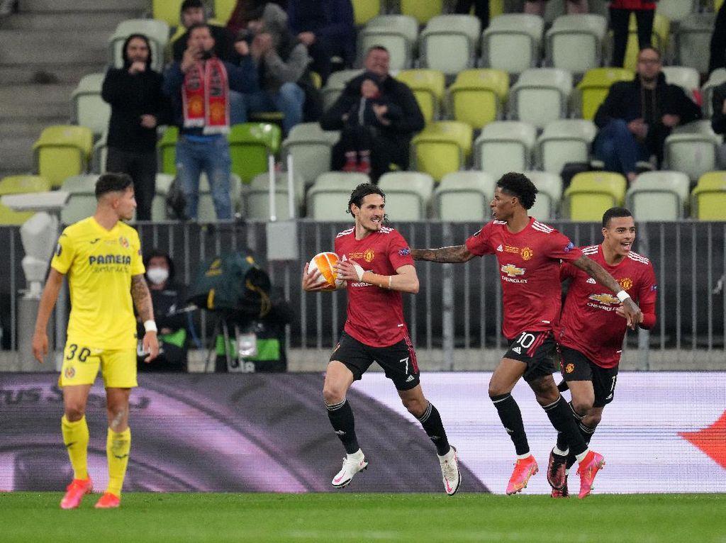 Final Liga Europa: Imbang 1-1, Villarreal Vs MU Lanjut Extra Time