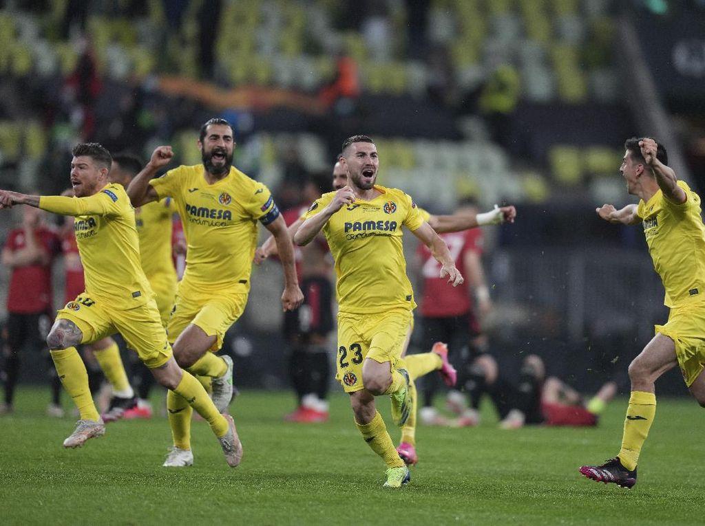 Hasil Final Liga Europa: Villarreal Kalahkan MU 11-10 Lewat Adu Penalti