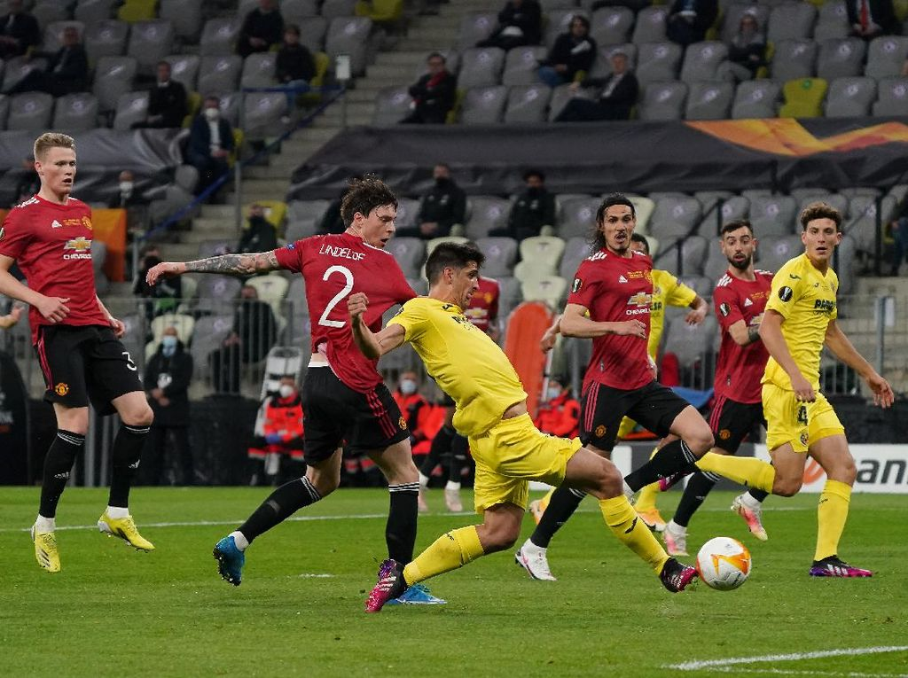 Top Skor Liga Europa: Ada Striker Villarreal Gerard Moreno