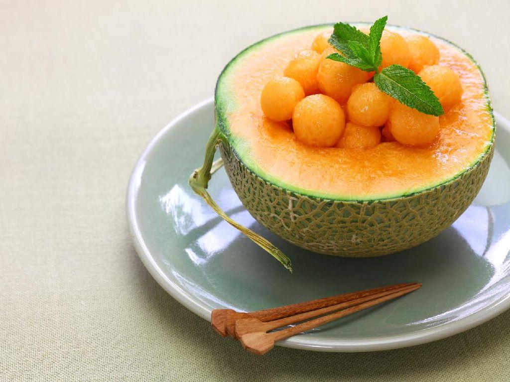 Wow! Melon Premium Jepang Laku Rp 300 Jutaan