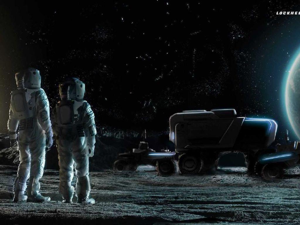 Mobil Penjelajah Bulan Bikinan GM, Begini Wujudnya
