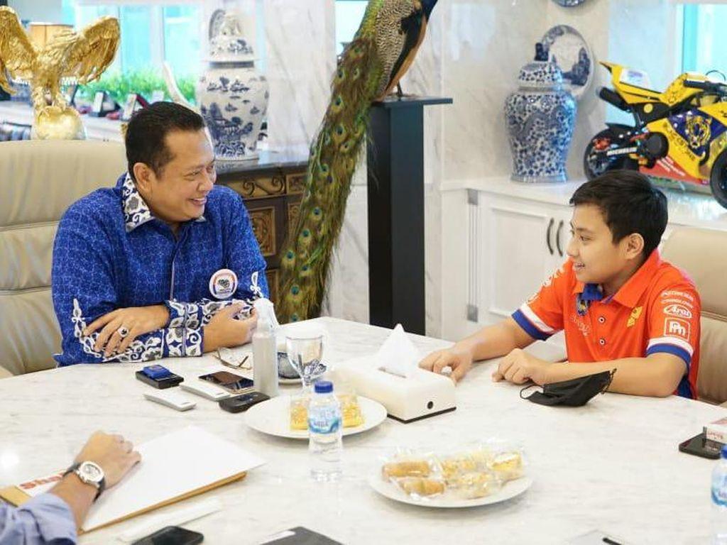Ketua MPR Dukung Kanaka Gusasi di Kejuaraan Gokart Internasional