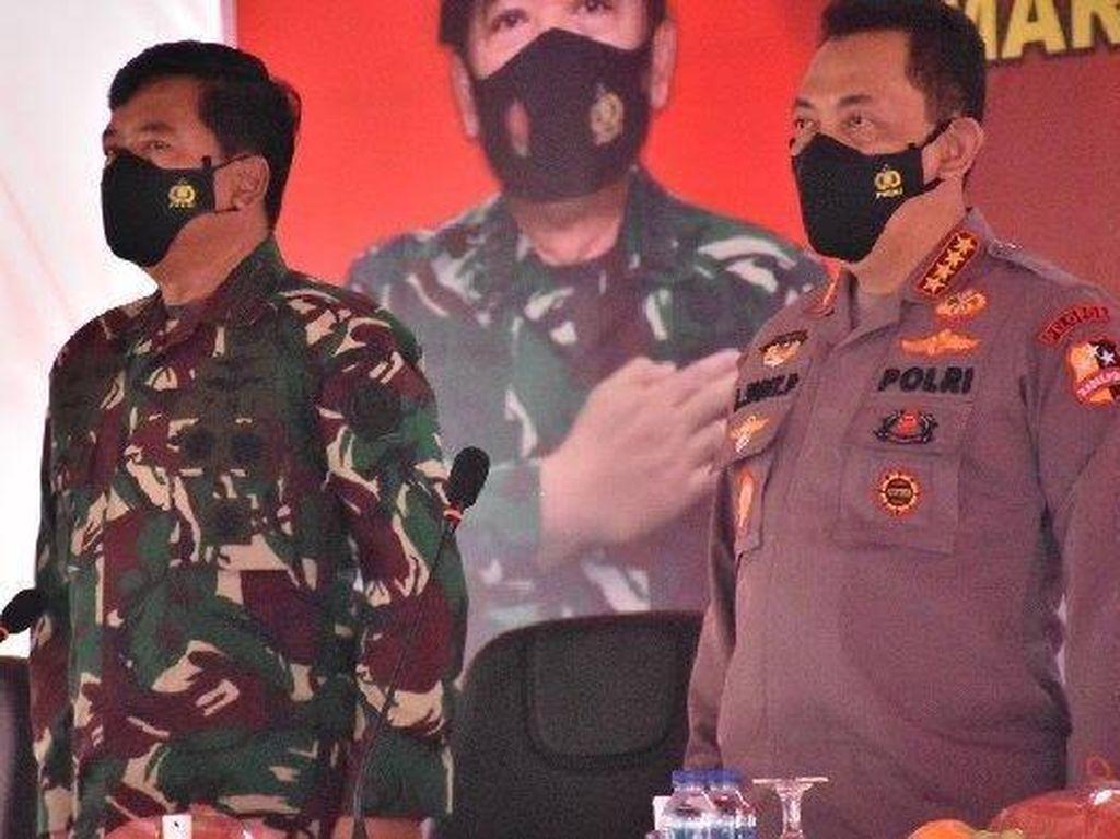 Arahan Khusus Panglima dan Kapolri ke Anggota TNI-Polri di Papua