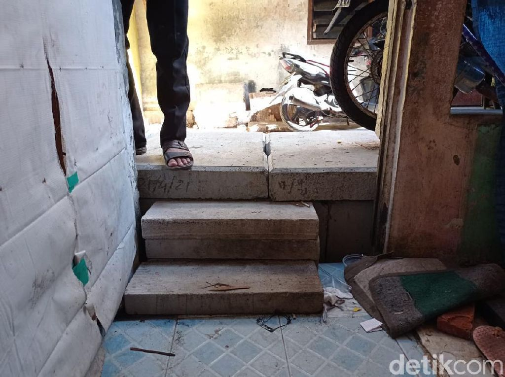 Penjelasan Pemkot soal Got Lebih Tinggi dari Rumah di Tambora Jakbar