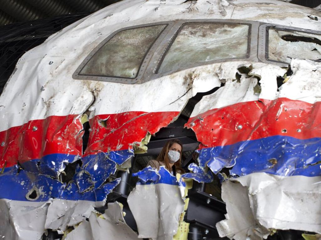 Pengadilan Belanda Lacak Rudal BUK yang Jatuhkan Penerbangan MH17