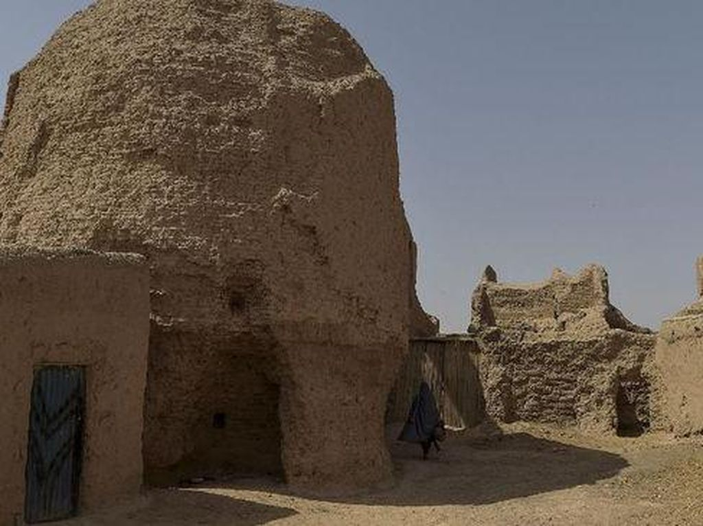 Qala-e-Kohna Dulu Istana Para Sultan, Kini Jadi Rumah Pengungsi
