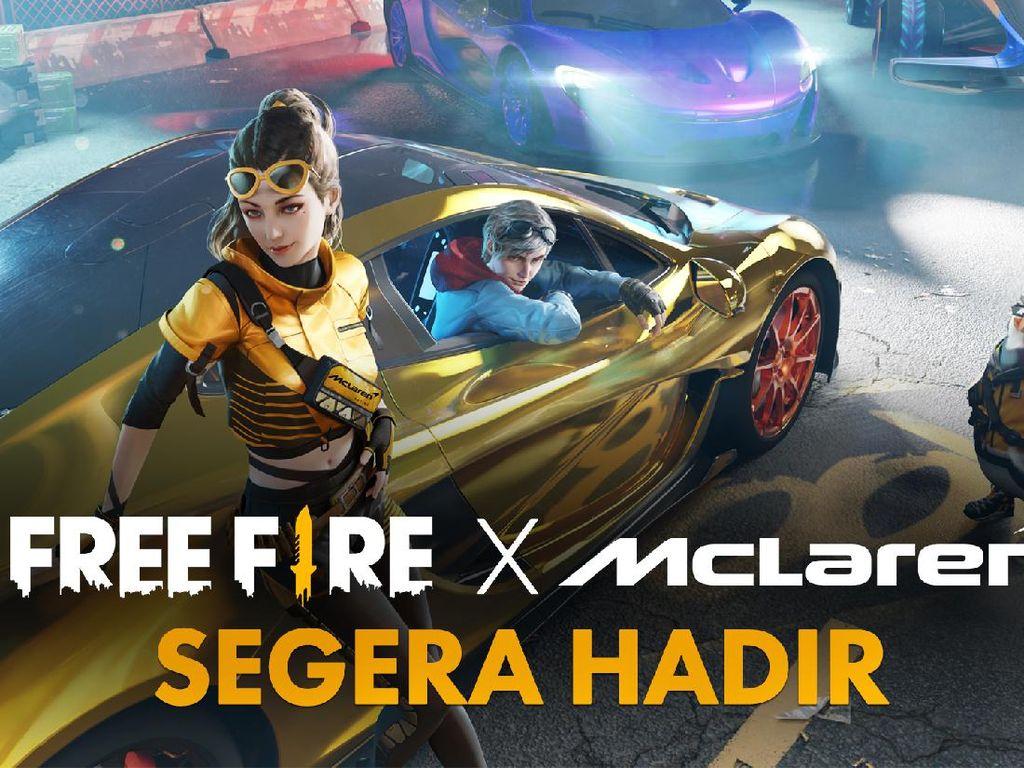 Bersiaplah! Free Fire Kolaborasi dengan McLaren