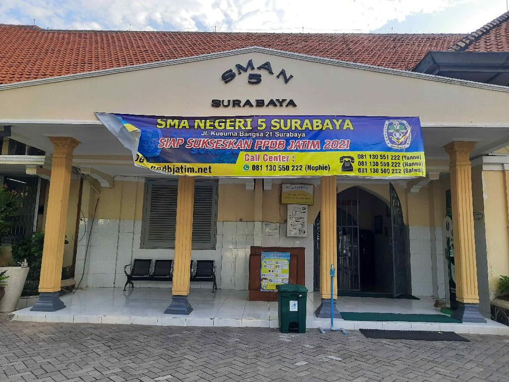 20 Sekolah Terbaik 2021 Se-Jawa Timur versi LTMPT, Nomor Satu di Surabaya
