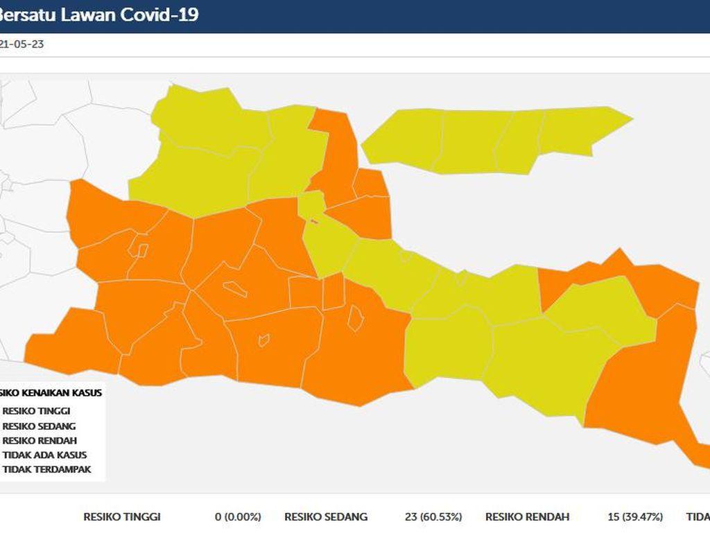 Kasus COVID-19 di Lamongan Masih Terkendali Usai Lebaran
