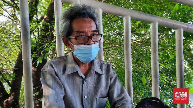 Sumardi Pedagang asal Depok, Jawa Barat