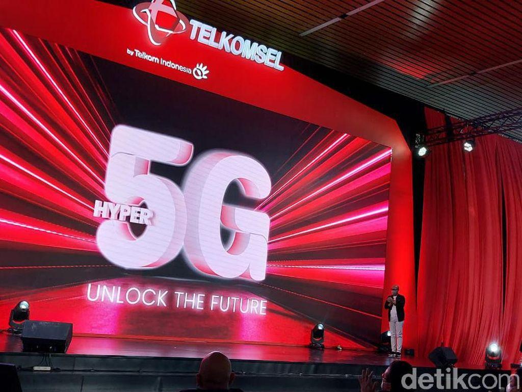 Sejarah Baru Telekomunikasi Indonesia Dimulai, Telkomsel Luncurkan 5G!