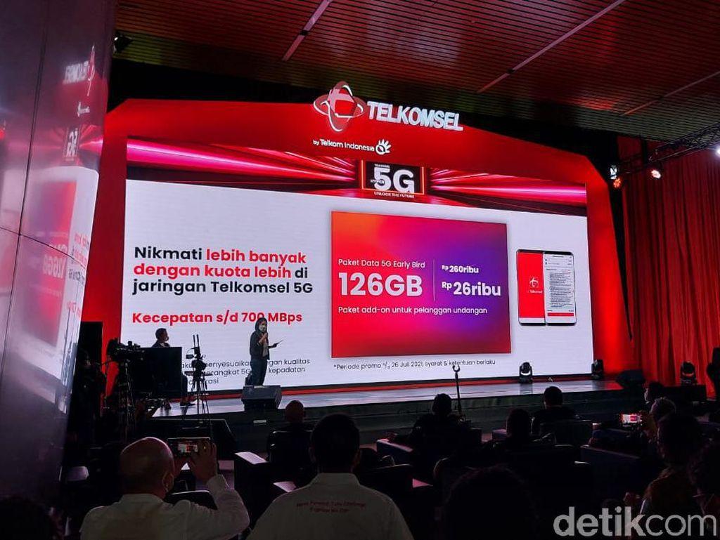 Ini Dia Harga Promo Paket Internet 5G Telkomsel
