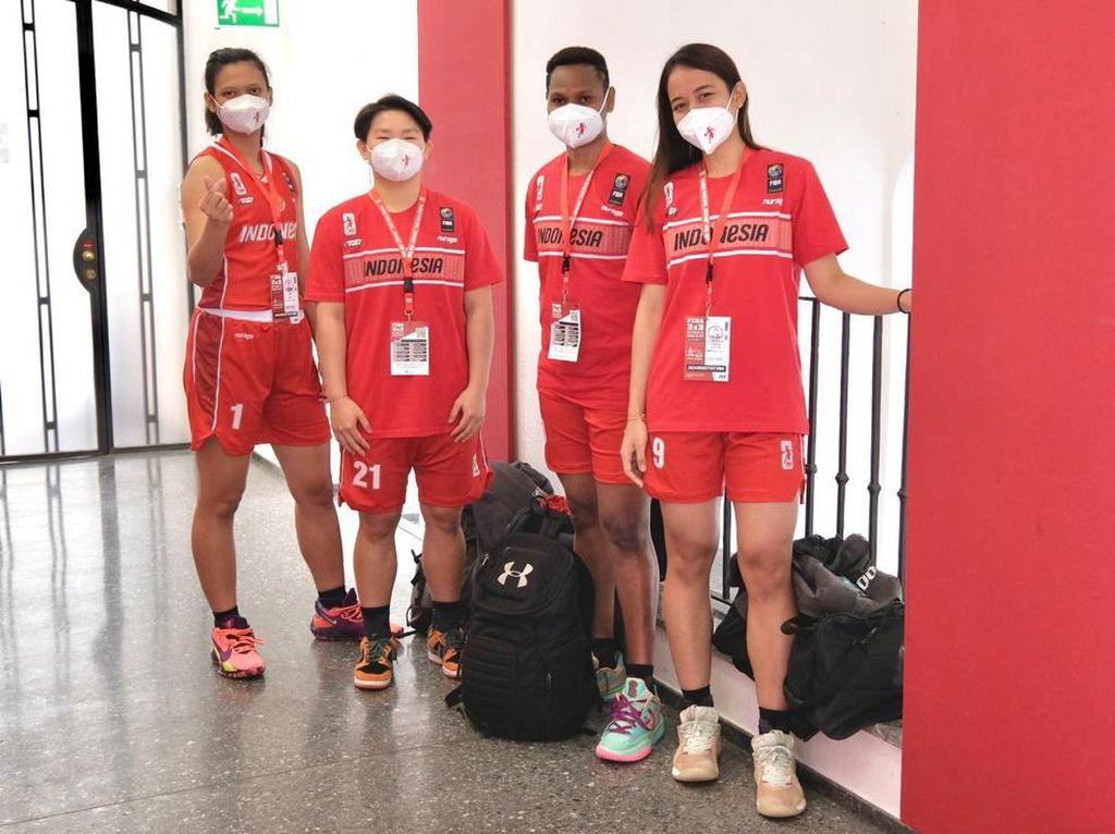 Timnas Basket Putri 3x3 Mulai Jalani Kualifikasi Olimpiade Tokyo
