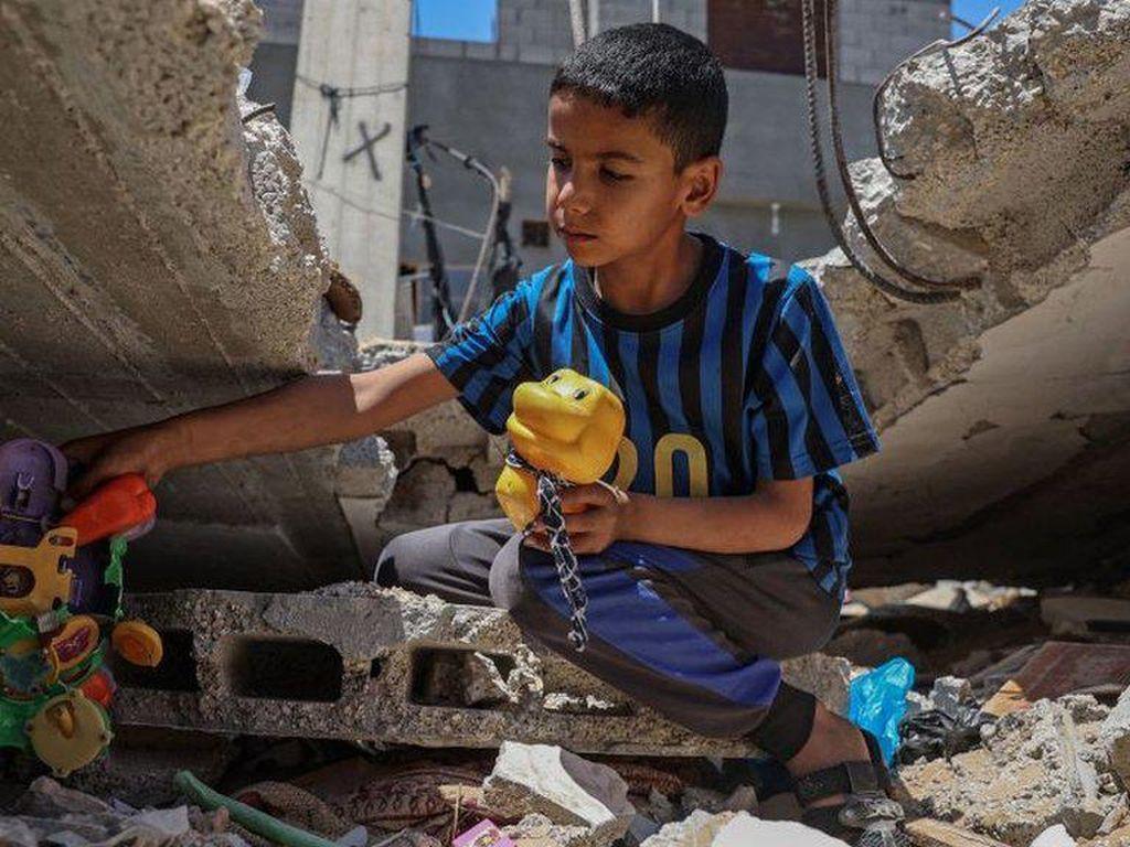 Potret Memilukan Anak-anak di Gaza yang Hidup Ketakutan dan Depresi