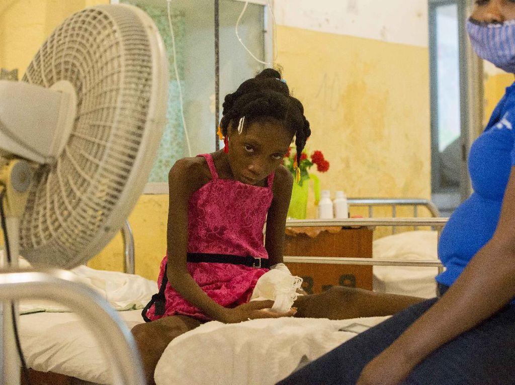 Ancaman Kekurangan Gizi Anak-anak Haiti Kala Pandemi