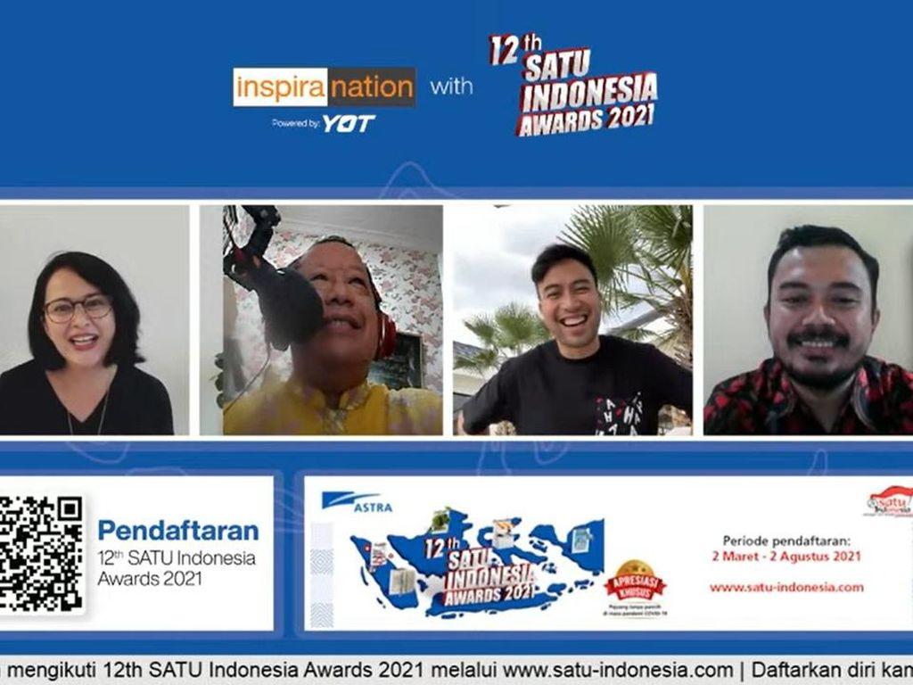 SATU Indonesia Awards Ajak Anak Muda Jadikan Teknologi Solusi Pandemi
