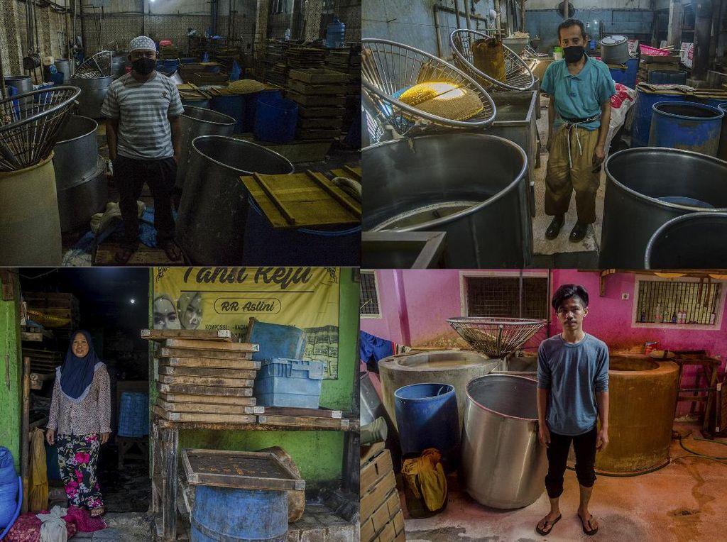 Duh, Perajin Tahu Cibuntu di Bandung Mogok Produksi