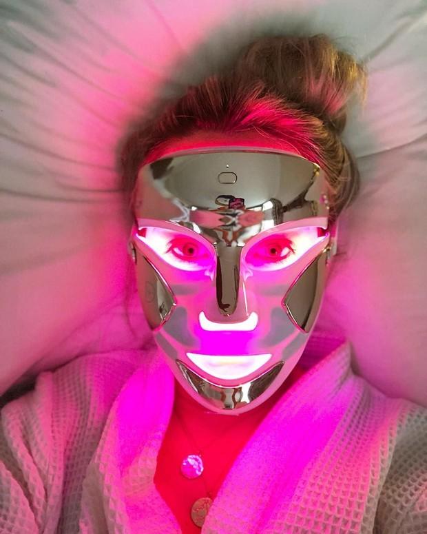 LED mask.
