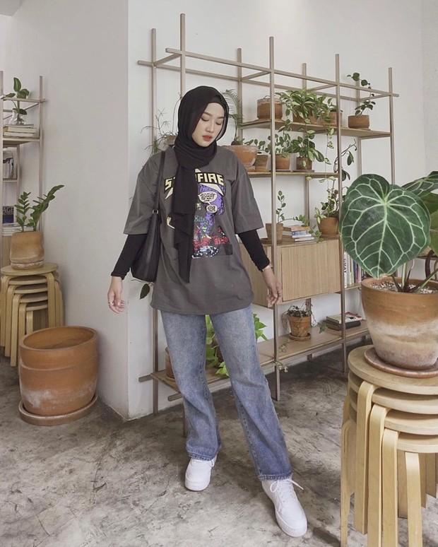 gaya fashion Wellisna Kim